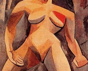 Дриада (обнаженная в лесу) — Пабло Пикассо