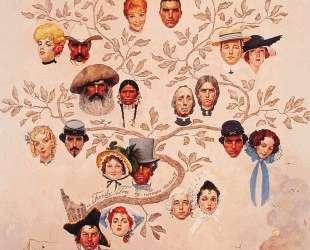 A Family Tree — Норман Роквелл