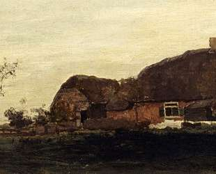 A Farmhouse In A Polder — Иохан Хендрик Вейсенбрух