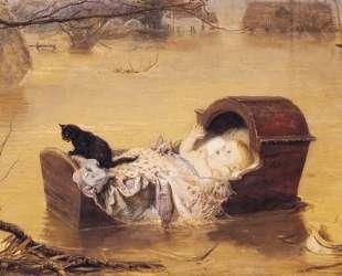 A flood — Джон Эверетт Милле