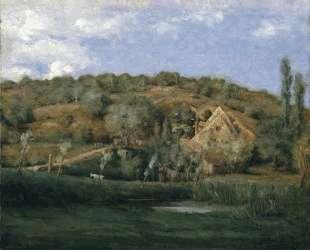 A French Homestead — Джулиан Олден Вейр