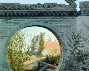 A Garden gate in Chuguchak — Василий Верещагин