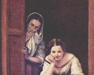 A Girl and her Duenna — Бартоломе Эстебан Мурильо
