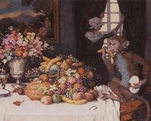 Жадная обезьянка — Константин Сомов
