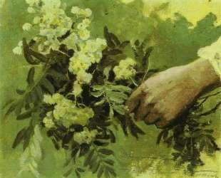 A Hand with Flowers — Михаил Нестеров