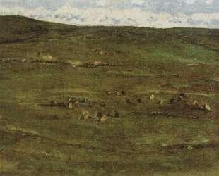 Табун лошадей в Барабинской степи — Василий Суриков