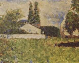 Дом меж деревьев — Жорж Сёра