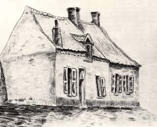 A house Magros — Винсент Ван Гог