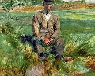 A Laborer at Celeyran — Анри де Тулуз-Лотрек