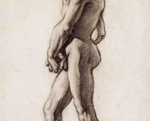 A male nude — Поль Сезанн
