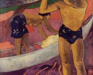 Мужчина с топором — Поль Гоген