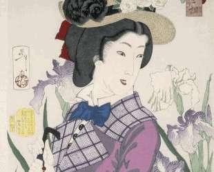 A married woman in the Meiji Period — Цукиока Ёситоси