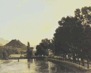 A morning in Interlaken — Фердинанд Ходлер