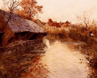 A Morning River Scene — Фриц Таулов