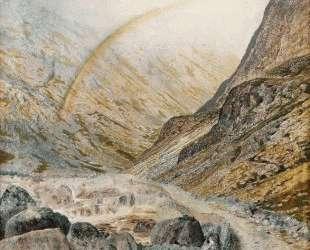 A Mountain Road, Flood Time — Джон Эткинсон Гримшоу