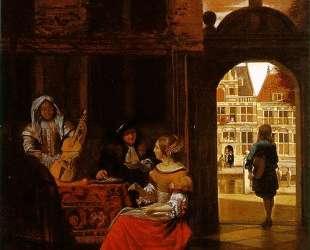 A Musical Party — Питер де Хох
