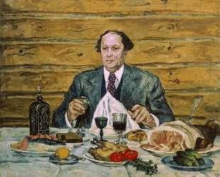 А. Н. Толстой в гостях у художника — Пётр Кончаловский