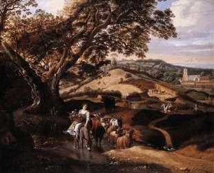 A Pastoral Landscape — Ян Сиберехтс