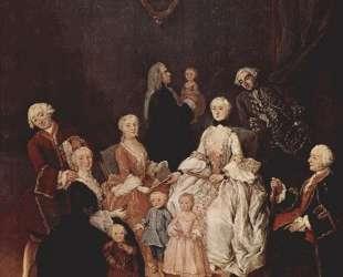 Аристократическое семейство — Пьетро Лонги