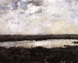 A Pond in Campine — Тео ван Рейссельберге