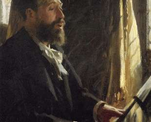 A Portrait of Jean Baptiste Faure — Андерс Цорн