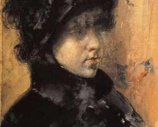 A Portrait Study — Уильям Меррит Чейз