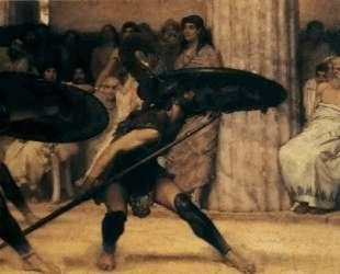 Танец Пиррихий — Лоуренс Альма-Тадема