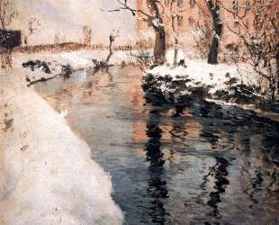 A River in the Winter — Фриц Таулов