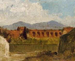 A Roman Aqueduct — Джузеппе Де Ниттис