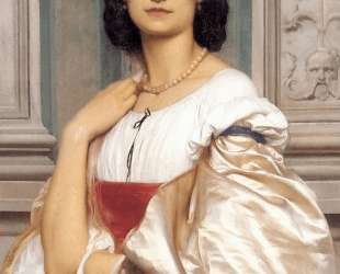 A Roman Lady — Фредерик Лейтон