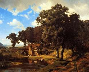 A Rustic Mill — Альберт Бирштадт