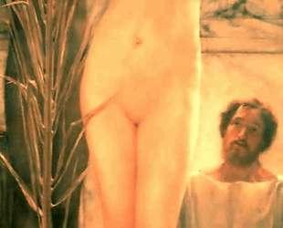 Модель скульптора (Венера Эсквилинская) — Лоуренс Альма-Тадема