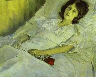 A Sick Girl — Михаил Нестеров