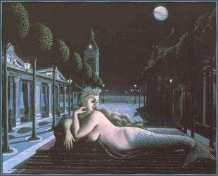 Сирена в свете полной луны — Поль Дельво