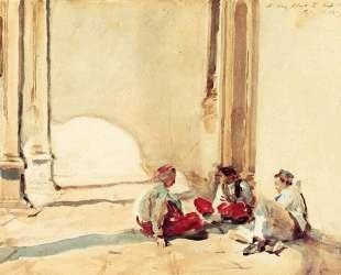 A Spanish Barracks — Джон Сингер Сарджент