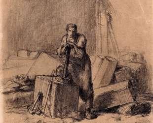 Каменщик — Жан-Франсуа Милле