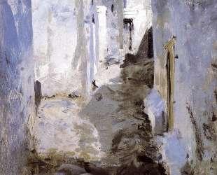 A Street in Algiers — Джон Сингер Сарджент