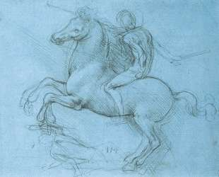 A study for an equestrian monument — Леонардо да Винчи