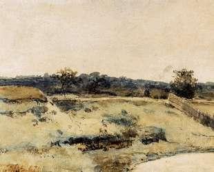 A Summer Landscape With Figures On A Path — Иохан Хендрик Вейсенбрух