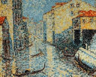 A Venetian Canal — Анри Эдмон Кросс