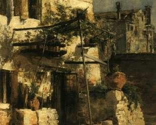 A Venetian Scene — Джон Генри Твахтман (Tуоктмен)