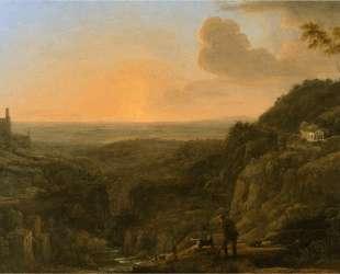 A view of the Roman Campagna from Tivoli — Клод Лоррен