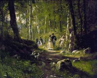 Прогулка в лесу — Иван Шишкин