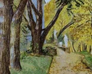 Прогулка в парке — Виктор Борисов-Мусатов