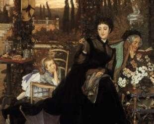 A Widow — Джеймс Тиссо