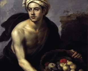 A Young Man with a Basket of Fruit — Бартоломе Эстебан Мурильо