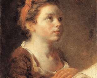A Young Scholar — Жан-Оноре Фрагонар