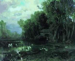 Заброшенная мельница — Фёдор Васильев
