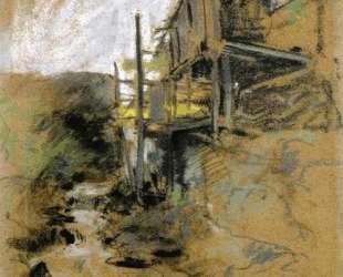 Abandoned Mill — Джон Генри Твахтман (Tуоктмен)