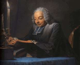 Abbe Jean-Jacques Huber — Морис Кантен де Латур